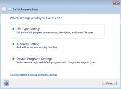 Default Programs Editor immagine 1 Thumbnail