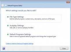 Default Programs Editor imagen 1 Thumbnail