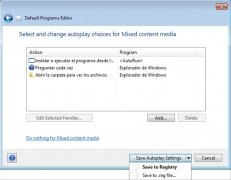 Default Programs Editor immagine 3 Thumbnail