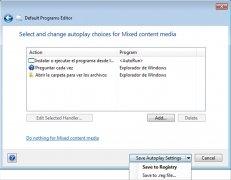 Default Programs Editor imagem 3 Thumbnail