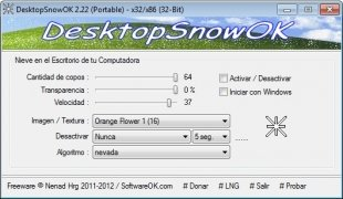 DesktopSnowOK imagen 1 Thumbnail