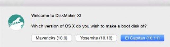 DiskMaker X imagen 1 Thumbnail