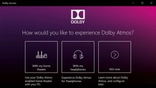 Dolby Access immagine 1 Thumbnail