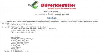 DriverIdentifier imagen 4 Thumbnail