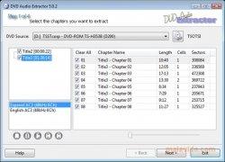 DVD Audio Extractor imagen 2 Thumbnail