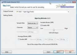 DVD Audio Extractor image 3 Thumbnail