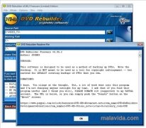 DVD Rebuilder image 4 Thumbnail