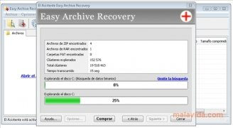 Easy Archive Recovery immagine 3 Thumbnail