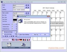 Easy Calendar Maker! image 6 Thumbnail