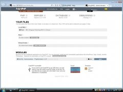 EasyPHP imagen 2 Thumbnail