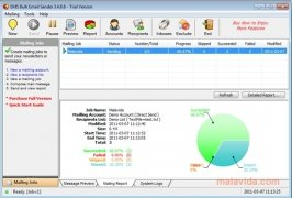 EMS Bulk Email Sender imagen 2 Thumbnail