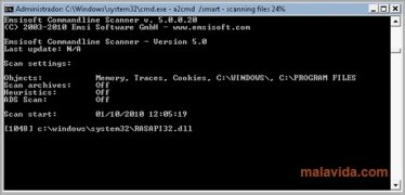 Emsisoft Commandline Scanner bild 2 Thumbnail