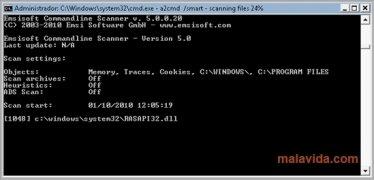 Emsisoft Commandline Scanner Изображение 2 Thumbnail