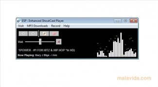 Enhanced Shoutcast Player immagine 2 Thumbnail