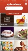 Epicurious Recipes & Shopping List Изображение 1 Thumbnail