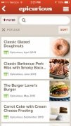 Epicurious Recipes & Shopping List imagen 4 Thumbnail
