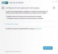 ESET Online Scanner imagen 1 Thumbnail