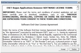 ESET Rogue Applications Remover immagine 1 Thumbnail