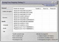Eusing Free Registry Defrag immagine 1 Thumbnail