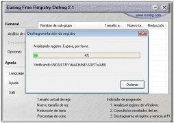 Eusing Free Registry Defrag immagine 2 Thumbnail