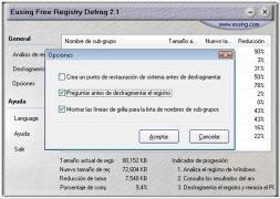 Eusing Free Registry Defrag imagem 4 Thumbnail