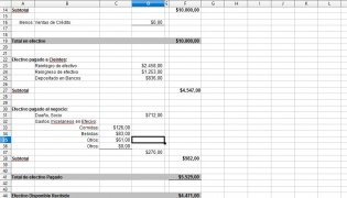 Excel Cuadre de Caja diario imagen 2 Thumbnail