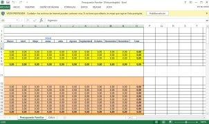 Excel Presupuesto Familiar imagen 1 Thumbnail