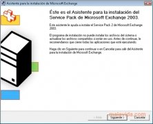 Exchange Server 2003 SP2 imagen 1 Thumbnail