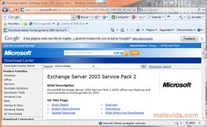 Exchange Server 2003 SP2 imagen 3 Thumbnail