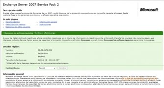 Exchange Server 2007 SP2 imagen 2 Thumbnail