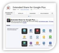 Extended Share for Google Plus Изображение 2 Thumbnail
