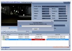 Extra DVD to Audio MP3 Ripper imagem 2 Thumbnail