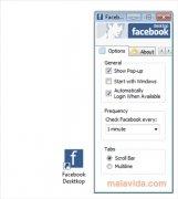 Facebook Desktop  1.0b imagen 3