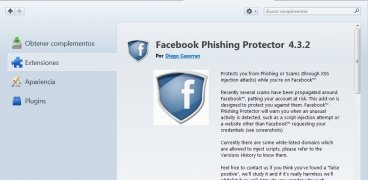 Facebook Phishing Protector immagine 3 Thumbnail