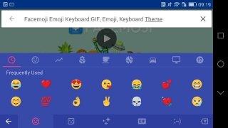Facemoji Keyboard immagine 2 Thumbnail