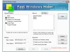 Fast Windows Hider image 1 Thumbnail