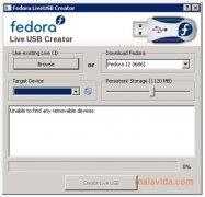 Fedora Live USB Creator imagem 1 Thumbnail