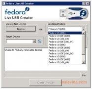 Fedora Live USB Creator immagine 2 Thumbnail