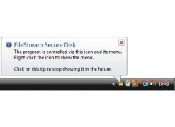 FileStream Secure Disk image 3 Thumbnail