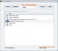 Fire U Uninstaller image 1 Thumbnail