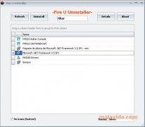 Fire U Uninstaller imagen 1 Thumbnail
