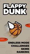 Flappy Dunk imagen 2 Thumbnail