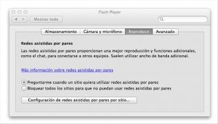 Flash Player  11.7.700.202 Espa�ol Mac imagen 4