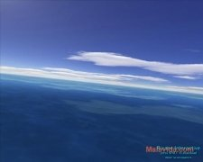Flight over sea 3D Screensaver image 2 Thumbnail