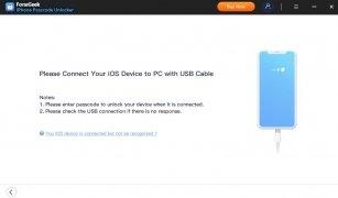 FoneGeek iPhone Passcode Unlocker imagen 2 Thumbnail