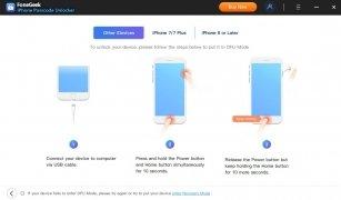 FoneGeek iPhone Passcode Unlocker imagen 4 Thumbnail