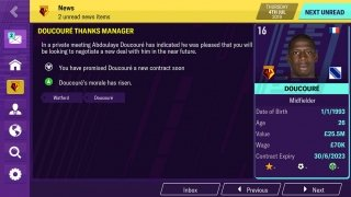 Football Manager 2019 Mobile Изображение 7 Thumbnail