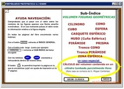 Formulario Matemáticas  5.1 Español imagen 1
