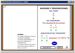 Formulario Matemáticas  5.1 Español imagen 3
