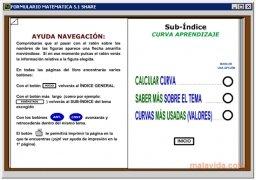 Formulario Matemáticas  5.1 Español imagen 4